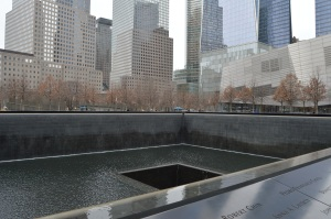Trade center memorial
