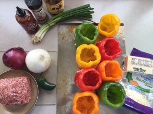 Lamb stuffed peppers ingredients